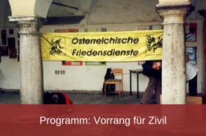 Transparent Österreichische Friedensdienste
