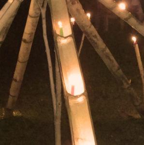 Neujahrslicht in der Friedengemeinde von San José de Apartadó