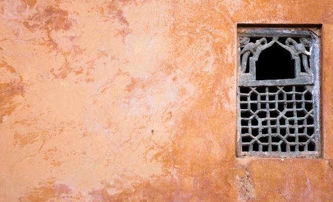 Indien-Lockdown-Fenster