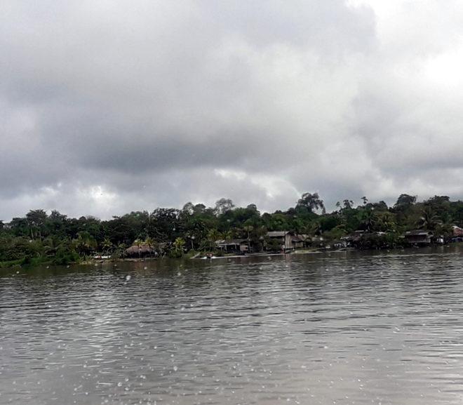 Dorf in Kolumbien